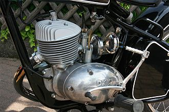 Single-cylinder engine - A single-cylinder motorcycle engine