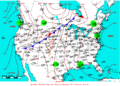 2007-06-25 Surface Weather Map NOAA.png