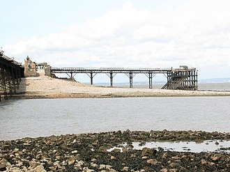 Birnbeck Pier - The north jetty built in 1905