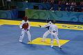 2008 Summer Olympics Taekwondo - Sara Khoshjamal v. Ghizlane Toudali.jpg