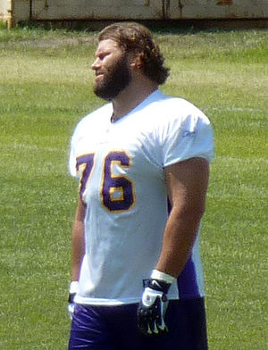 Steve Hutchinson (American football) - Hutchinson with the Minnesota Vikings