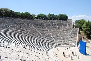 Epidaurus - The theatre