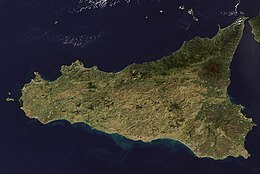 Cartina Sicilia Satellite.Sicilia Wikipedia