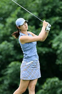 best sneakers 30481 b2e40 Wie at the 2009 LPGA Championship