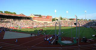 Bislett Games athletics tournament held in Norway