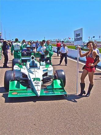HVM Racing - 2011 HVM Entergy-sponsored entry on the starting grid for the season opener.