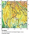 2011 Myanmar March 25 earthquake-location-map.jpg