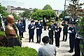 2012.6.12, 6·25전쟁 전사 밴플리트2세 공군대위 흉상 제막 (7373585432).jpg