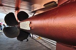 2012 'Tag der offenen Werft' - ZSG Werft Wollishofen - Panta Rhei (Wartung) 2012-03-24 14-34-56.JPG