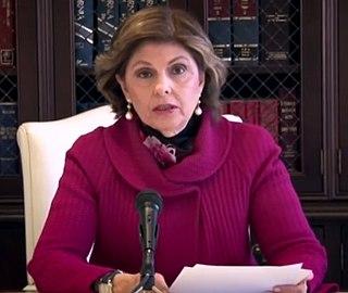 Gloria Allred American attorney