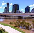 2013 Brisbane Flood - Victoria Bridge from Southbank.jpg