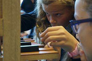Heritage interpretation - Part of the music education for children in primary school is to assemble a do-organ from Orgelkids