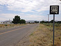 2014-07-18 09 50 41 First reassurance sign along northbound Nevada State Route 895 in Preston, Nevada.JPG