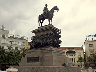 Monument to the Tsar Liberator - Image: 20140614 Sofia 039