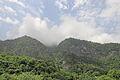 2014 Droga w kierunku jeziora Rica, Widok na góry (02).jpg