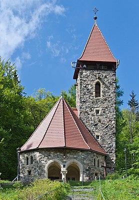 2014 Międzygórze, kościół Krzyża Świętego.JPG