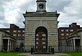 2015 London-Woolwich, Cambridge Barracks gate house 16.JPG