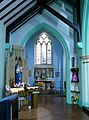 2016 Woolwich, St Peter's RC Church, Lady Chapel 1.jpg