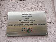 2017-03-06 Wohnhaus von Thomas Bach von 1953 bis 1977 am Sonnenplatz in Tauberbischofsheim - 2