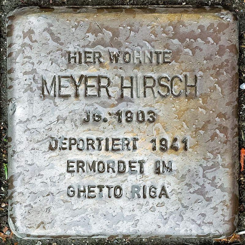 2017 10 05 Stolpersteine Duelken Hirsch Meyer.jpg