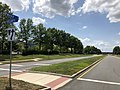2018-07-29 14 27 34 View west along Warp Drive at Virginia State Route 1902 (Atlantic Boulevard) in Sterling, Loudoun County, Virginia.jpg
