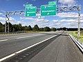 2018-10-12 11 58 26 View west along Interstate 66 at Exit 1 (Interstate 81, Roanoke, Winchester) in northwestern Warren County, Virginia.jpg