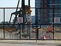 2018 Woolwich, West Quay construction site 01.jpg