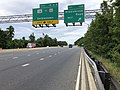 2019-06-18 13 36 41 View north along Interstate 270 (Washington National Pike) at Exit 13B (Middlebrook Road WEST) in Germantown, Montgomery County, Maryland.jpg