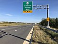 2019-09-20 16 48 56 View east along Virginia State Route 7 (Harry Byrd Highway) at the exit for Virginia State Route 2020 (Ashburn Village Boulevard) on the edge of Lansdowne and Ashburn in Loudoun County, Virginia.jpg