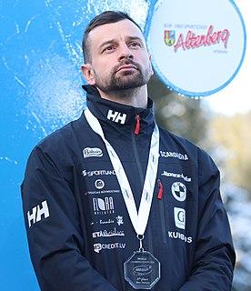 Martins Dukurs Latvian skeleton racer
