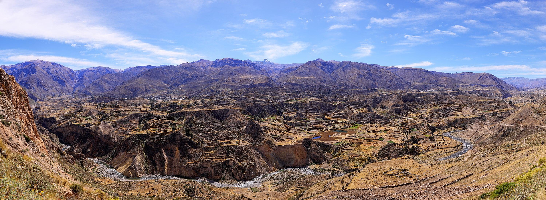 205 - Vallée de Colca - Panorama - Juin 2010 - 10.jpg