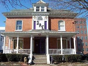 Walnut Park Historic District - Image: 206Walnut Place Syr
