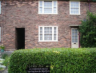 Paul McCartney - McCartney's home at 20 Forthlin Road in Allerton. The McCartney family moved into this residence in 1955.
