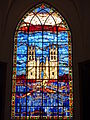 228 Montpellier Eglise saint-Roch Vitrail.JPG