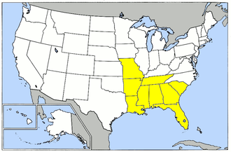 29th Flying Training Wing (U.S. Army Air Forces) - Locations of airfields controlled by the 29th Flying Training Wing