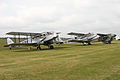 2 DH84 Dragons with a DH89 Dragon Rapide at Legends 2011 (7010561435).jpg