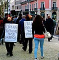 2nd March Anti-troika demonstration The pig's triumph ending(Fuck the Troika) (8523149784).jpg