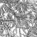 3. Militärische Aufnahme (-1887) Wrocien Berg.JPG