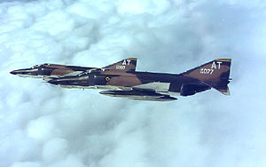 32d Intelligence Squadron - Squadron RF-4C Phantom IIs at RAF Alconbury in 1970