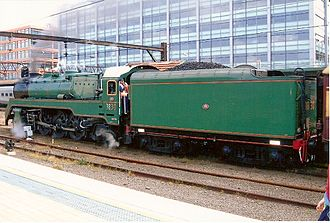 New South Wales C38 class locomotive - 3830 at Sydney
