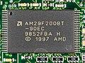 3COM NoteWorthy 3CXM056-BNW - board - AMD AM29F200BT-90EC-6340.jpg