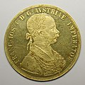 4-ducat piece, Francis Joseph I of Austria, 1888, 40th anniversary of the Emperor's accession MET SF09 9 7 img1.jpg