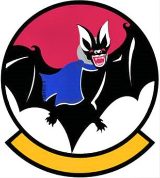 55th Electronic Combat Group - 43d Electronic Combat Squadron emblem