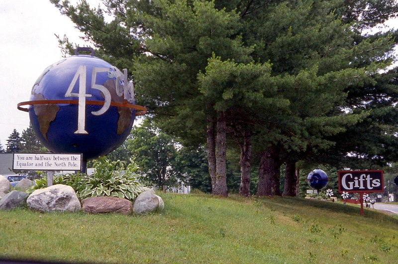 File:45th Parallel, Perry, Maine.jpg