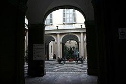4623 - Museo Risorgimento, Milano - Cortile - Foto Giovanni Dall'Orto, 3-Jan-2008.jpg