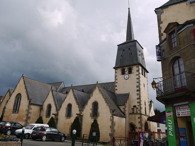 L'église en 2017.