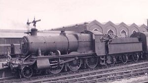 GWR 4300 Class - 6381 at Southampton Terminus 1949