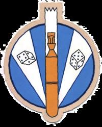 711th Bombardment Squadron - Emblem