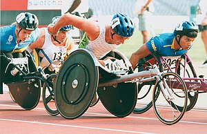 T53 (classification) - Image: 80 ACPS Atlanta 1996 Track Paul Wiggins