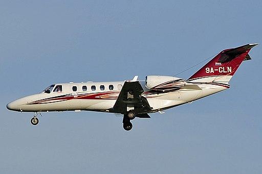 9A-CLN Cessna 525A CJ2+ (7320152108)